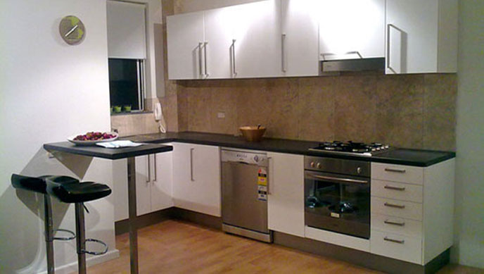 Flat Pack Kitchen Installation